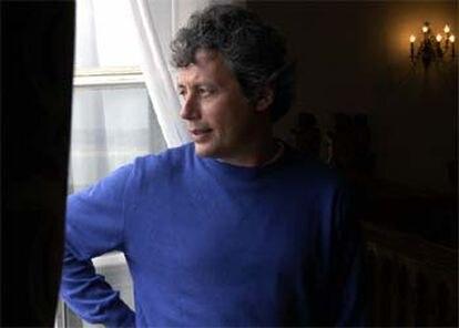 El escritor Alessandro Baricco, ayer en Santander.