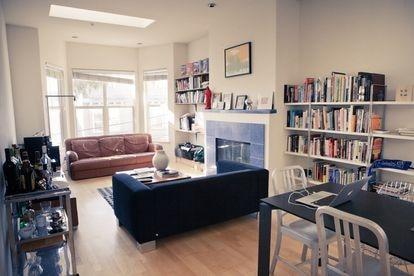 La Rausch street apartment, en San Francisco, la casa donde se fundó la compañía.