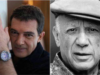 Antonio Banderas y Pablo Picasso.