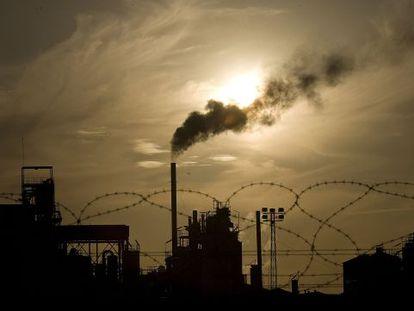 Las fábricas recibieron una asignación gratuita de CO2.