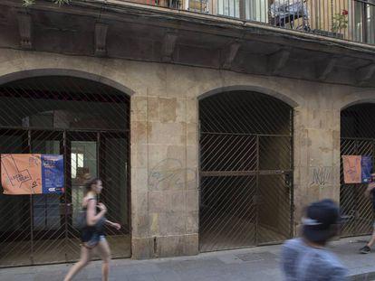 Imagen de archivo de uno de los locales de protección oficial de Ciutat Vella