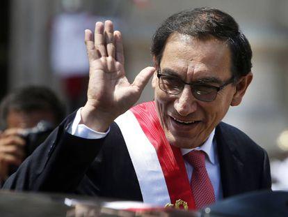 El presidente de Perú, Martín Vizcarra, en una imagen de archivo.