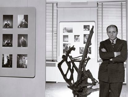El marchante de arte Pierre Matisse, en 1940.
