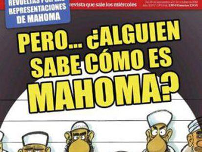 La portada del semanario El Jueves.