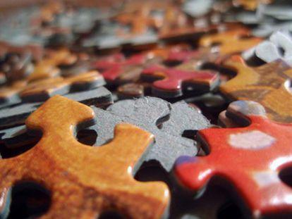 Piezas de un puzzle.