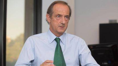 El presidente de Ence, Ignacio de Colmenares.