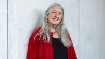 La historiadora britanica Mary Beard en el barrio londinense de London Bridge, Reino Unido 21/10/2021 FOTO Carmen Valino
