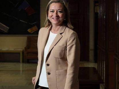 FOTO: Ana Oramas, diputada y presidenta de la Comisión de Investigación de la Crisis financiera. / VÍDEO: El enfado de Oramas tras la comparecencia del exconsejero de Bankia José Moral Santín.