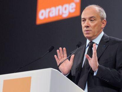 El consejero delegado de Orange, Stéphane Richard.
