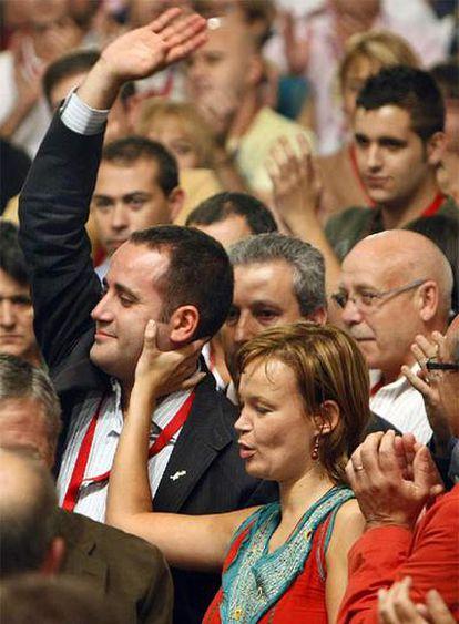 Alarte recibe el apoyo de Pajín como nuevo líder del PSPV.