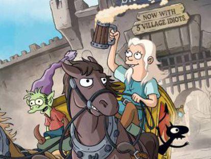 Netflix estrena '(Des)encanto', la primera serie de Matt Groening, creador de 'Los Simpson', en casi 20 años