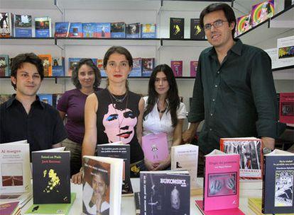 Desde la izquierda, Pablo Mazo, Ángeles Alonso, Talía Casado, Irene Antón y Carlos Jiménez Arribas.