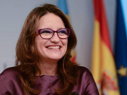 La portavoz del Consell, Mónica Oltra.