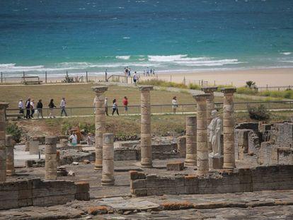 Restos de la antigua ciudad romana de Baelo Claudia, en Bolonia (Tarifa, Cádiz).