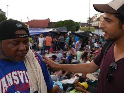 Un redactor y un fotógrafo del periódico acompañan a los 7.000 ciudadanos centroamericanos que viajan a pie hacia EE UU