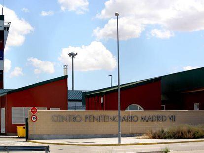 Exterior del Centro Penitenciario de Madrid VII, en la localidad de Estremera.
