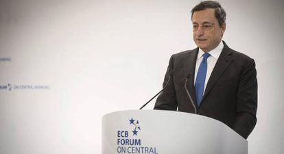 Mario Draghi, presidenta del BCE
