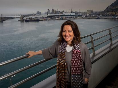 Mercè Conesa, presidenta de la Autoridad Portuaria de Barcelona.