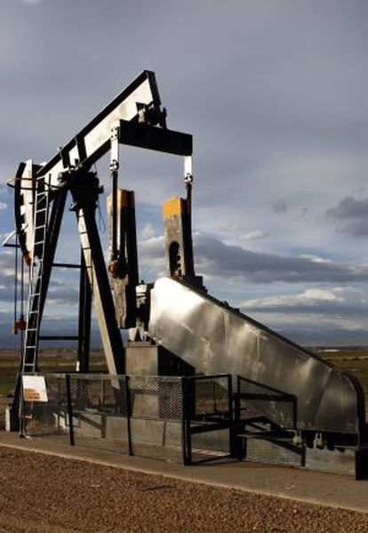 Un pozo petrolífero en Frederick, Colorado (EE UU).