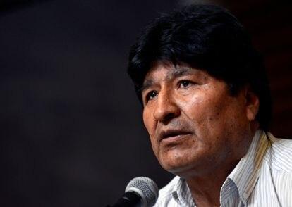 Imagen de archivo del expresidente boliviano Evo Morales.