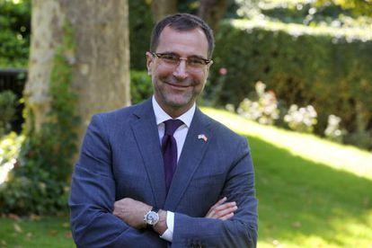 James Costos, embajador de EE UU en España, el lunes en Madrid.