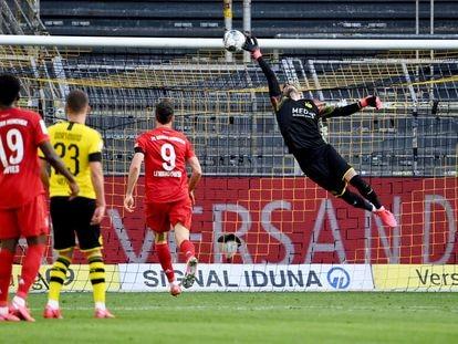 Bürki encaja el gol de Kimmich.