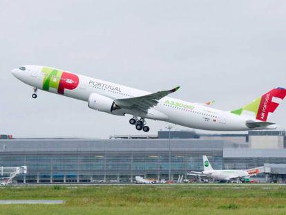 Uno de los nuevos aviones de TAP.