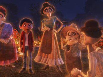 Un fotograma de 'Coco'. En vídeo, entrevista al director y la productora de la película.