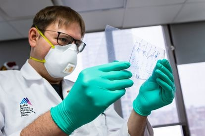 El virólogo del Hospital Monte Sinaí Florian Krammer.