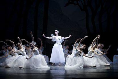 Un momento del montaje de 'Giselle'.