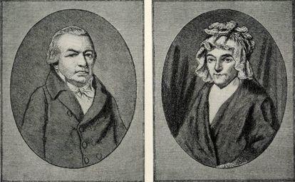Los padres de Beethoven.