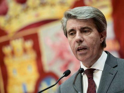 Ángel Garrido, presidente de la Comunidad, en una imagen de archivo.