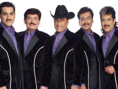 La banda mexicana Los Tigres del Norte.