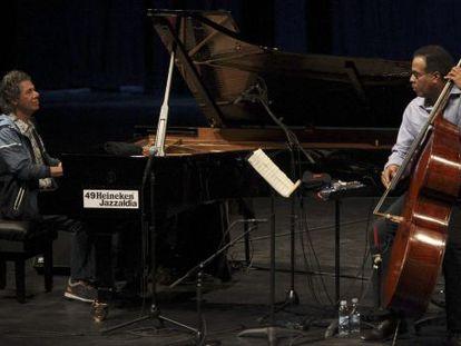 Chick Corea (izquierda) y Nicholas Payton, en Jazzaldia.