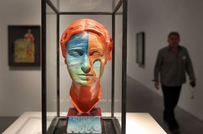 'Retrato de Joella', de Dalí, con la colaboración de Man Ray, de la exposición del Reina Sofía.