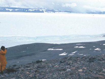 Halladas en la Antártida rocas que, a veces, contienen diamantes