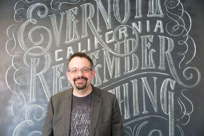 Phil Libin, fundador y consejero delegado de Evernote.