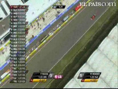 "Vettel  logra la pole; Alonso, quinto. <strong>Especial: <a href=""http://www.elpais.com/deportes/formula1/"">Mundial de Fórmula 1</a></strong>"