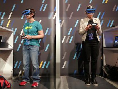 La realidad aumentada, que propone un mundo sin pantallas y con toda la información integrada en un único sistema,  amenaza  el futuro de los móviles
