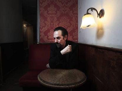 El músico Diego Vasallo, el martes en Madrid.