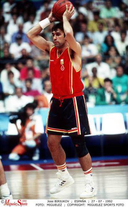 Biriukov, en Barcelona 92.