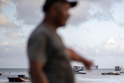 Pescadores en Fortaleza.