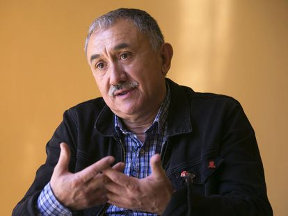 Jose Maria Álvarez, en un momento de la entrevista.
