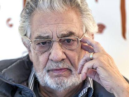 Plácido Domingo, en una imagen de diciembre de 2019.