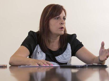 Mónica Gracia, secretaria general del SUP, en una imagen de 2017.