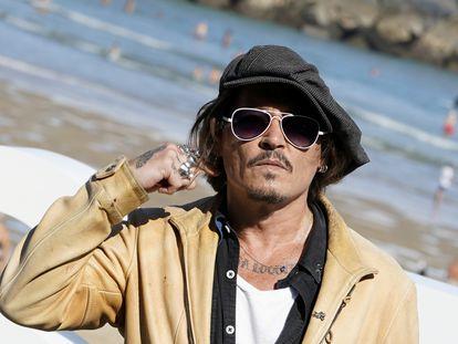 Johnny Depp, en el Festival de cine San Sebastián el pasado septiembre.