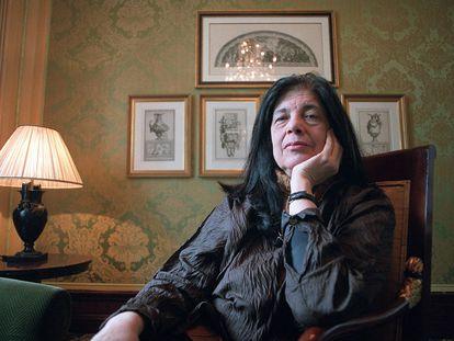 Susan Sontag, en Madrid en 2003.