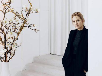 Agnes Obel, en la galería de arte berlinesa Julia Stoschek en noviembre de 2019.