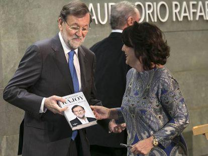 Presentación del libro de Mariano Rajoy, el pasado día 2 de diciembre.