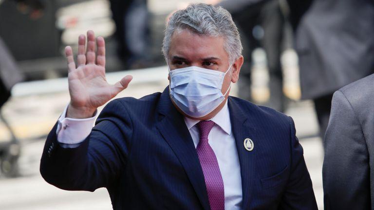 El presidente de Colombia, Iván Duque, en una imagen de noviembre pasado.